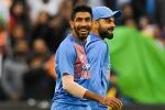 ODI rankings: ಆಲ್ ರೌಂಡರ್ ಜಾಧವ್ ಜಿಗಿತ, ಕೊಹ್ಲಿ-ಬೂಮ್ರಾಗೆ ಅಗ್ರಸ್ಥಾನ!