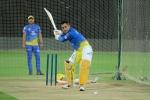 IPL2019: ಅಭ್ಯಾಸದ ವೇಳೆ ಅದ್ಭುತ ಸಿಕ್ಸ್ ಸಿಡಿಸಿದ ಧೋನಿ-ವಿಡಿಯೋ