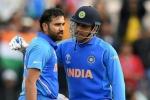 ವಿಶ್ವಕಪ್ 2019: ಧೋನಿ ದಾಖಲೆ ಮುರಿಯಲಿದ್ದಾರೆ 'ಹಿಟ್ ಮ್ಯಾನ್' ರೋಹಿತ್