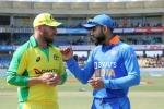 ಭಾರತ vs ಆಸ್ಟ್ರೇಲಿಯಾ: ಆಸ್ಟ್ರೇಲಿಯಾಗೆ ಆರಂಭಿಕ ಆಘಾತ: live ಸ್ಕೋರ್