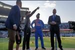 ಭಾರತ vs ನ್ಯೂಜಿಲ್ಯಾಂಡ್: ಟಾಸ್ ಗೆದ್ದ ಟೀಮ್ ಇಂಡಿಯಾ ಬೌಲಿಂಗ್ ಆಯ್ಕೆ: live ಸ್ಕೋರ್