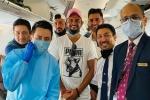 ಐಪಿಎಲ್ 2020: ಚೆನ್ನೈಗೆ ಪ್ರಯಾಣ ಬೆಳೆಸಿದ ಸಿಎಸ್ಕೆ ತಾರೆಯರು