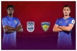 ಐಎಸ್ಎಲ್: ಮುಂಬೈ ಸಿಟಿ vs ಚೆನ್ನೈಯಿನ್ ಹಣಾಹಣಿ, Live ಸ್ಕೋರ್