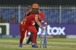 ಐಪಿಎಲ್ 2021: ಹೈದರಾಬಾದ್ ವಿರುದ್ಧ ರೋಚಕ ಪಂದ್ಯ ಗೆದ್ದ ಪಂಜಾಬ್