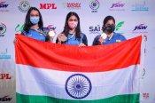 ISSF World Cup: 25 ಮೀ. ಪಿಸ್ತೂಲ್ನಲ್ಲಿ ಭಾರತದ ವನಿತೆಯರಿಗೆ ಚಿನ್ನ