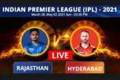 ಐಪಿಎಲ್: ರಾಜಸ್ಥಾನ್ vs ಹೈದರಾಬಾದ್, ಪ್ಲೇಯಿಂಗ್ XI, Live ಸ್ಕೋರ್