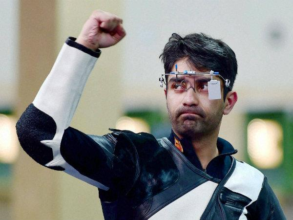 India At Cwg 2014 On Day 3 July 25 Abhinav Bindra 086476 Pg
