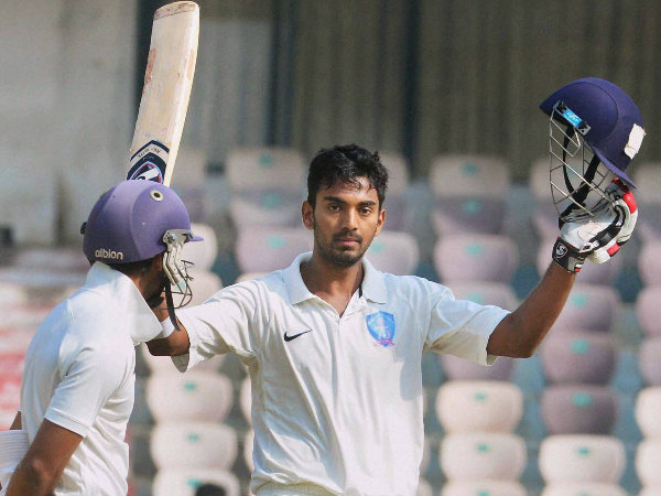 KL Rahul gets maiden call