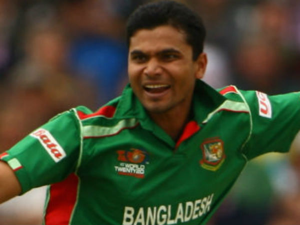 Bangladesh Captain Mashrafe Mortaza Injured In Road Accident