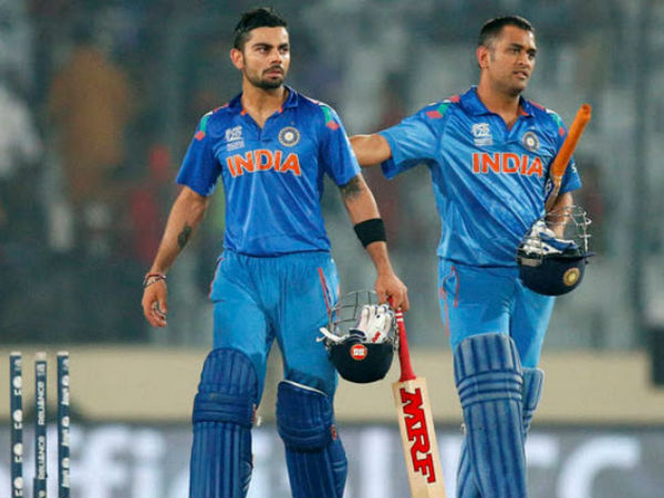 Virat Kohli Earns Rs 8 Crore Mrf Ad On His Bat Ms Dhoni Team India