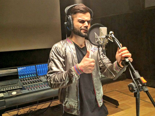 Watch Video Virat Kohli Turns Rapper Dances To Ar Rahmans Tune