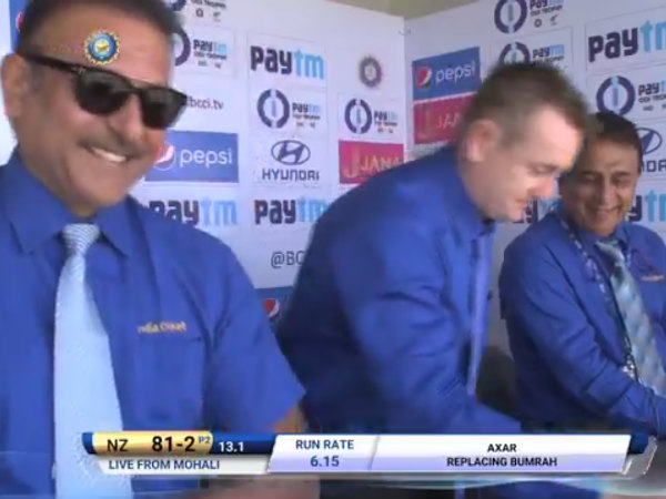 Kedar Jadhav Forces Scott Styris Of Commentary Box Into Hiding