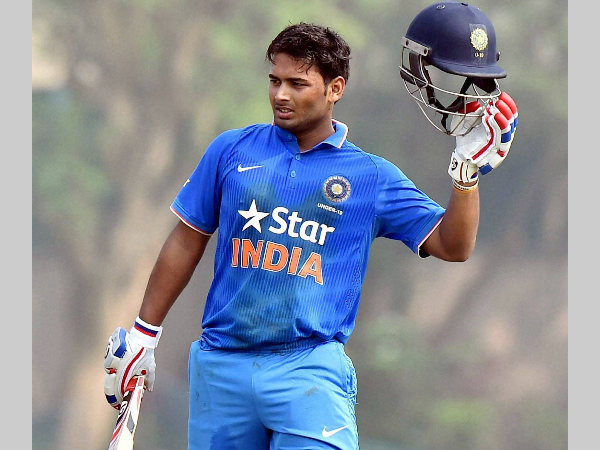 Rishabh Pant signs mutli-crore deal with cricket equipment manufacturers SG