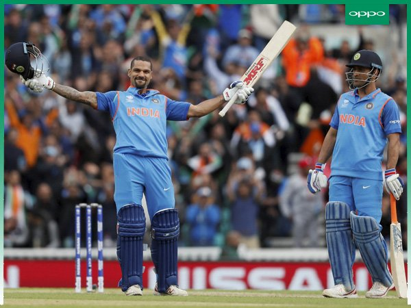 Champions Trophy: Shikhar Dhawan wins Golden Bat, Hassan Ali bags Golden Ball