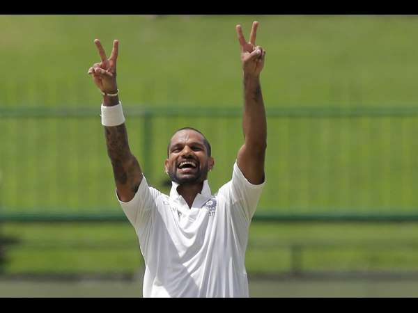 India Vs Srilanka 3rd Test Dhawan S Century Powers India To Score 329 On Day