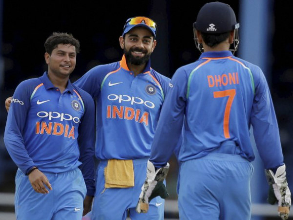 Kuldeep Becomes First Indian Spinner Take Odi Hat Trick