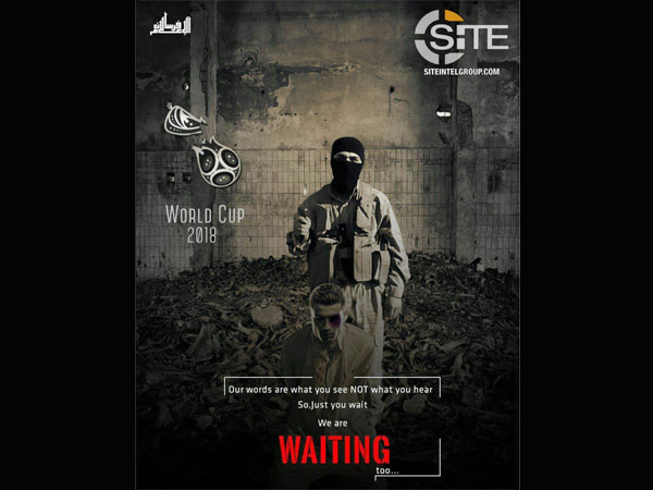 Wait for us, we are waiting, ISIS tells football fans ahead of 2018 FIFA World Cup