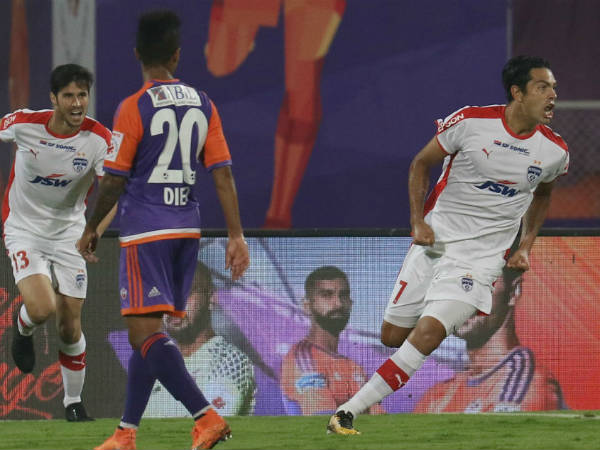 ISL: Miku stars as Bengaluru FC beat FC Pune City to Top the table