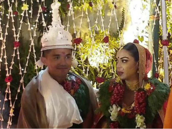 Sunil Chhetri ties the knot with long-time girlfriend Sonam Bhattacharya
