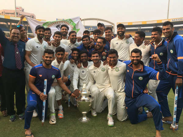 Vidharba Beat Delhi By 9 Wickets To Win First Ever Ranji Trophy