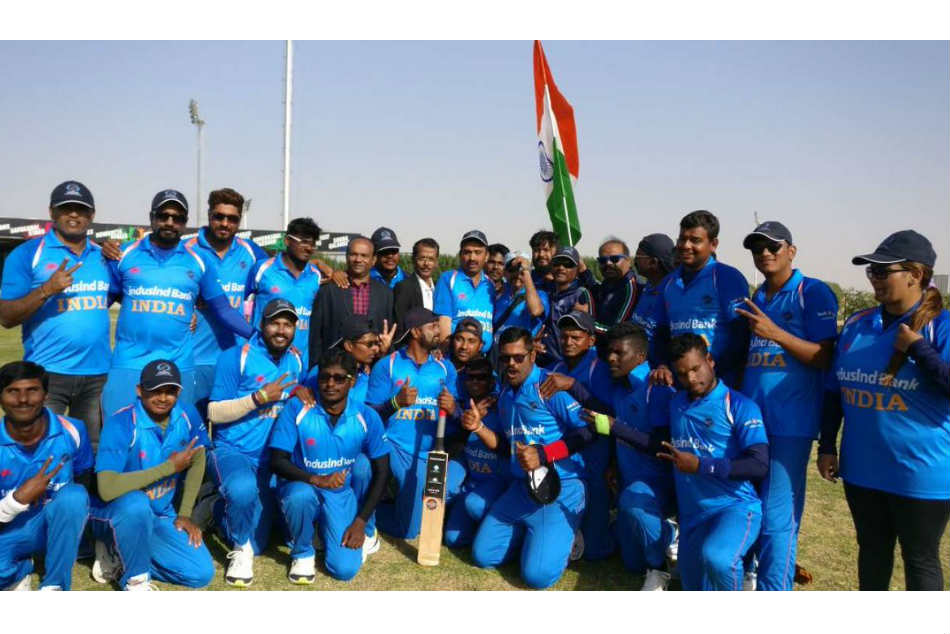 India beat Pakistan, clinches Blind Cricket World Cup - 2018