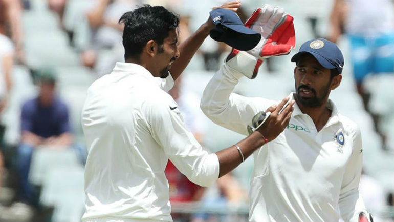 Wriddhiman Saha Surpasses Ms Dhoni Record Most Dismissals Test Match Indian Wicketkeeper