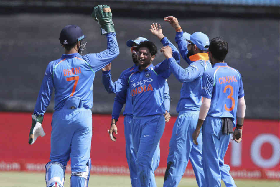 1st ODI: India win over south Africa: twitter statements