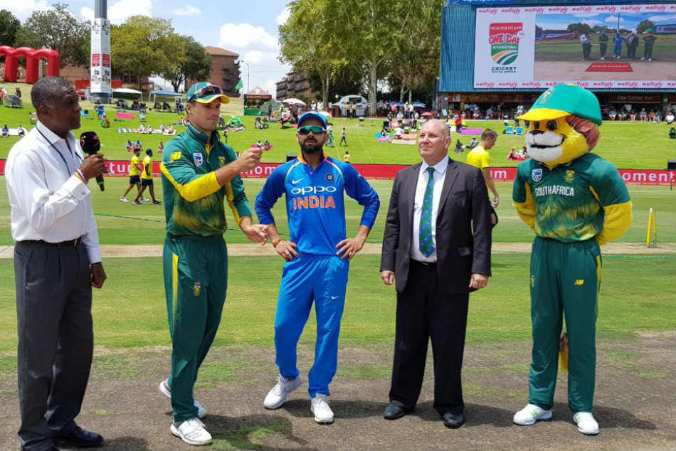 India V S South Africa One Day Cricket Match Updates