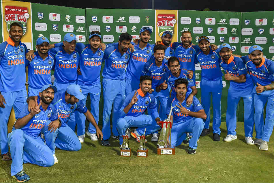 India Won The Series Against South Afrcia By 5