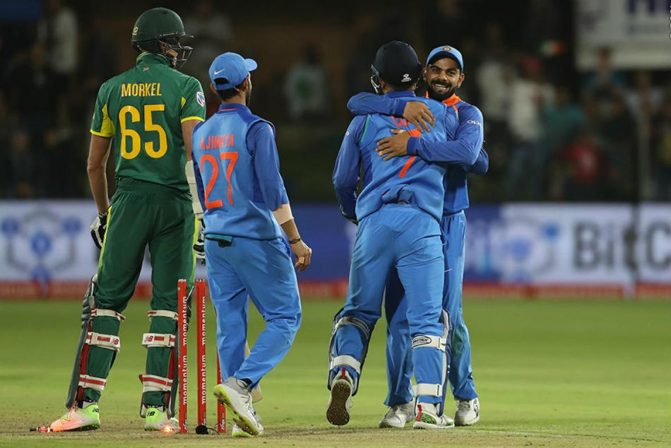 India End 25 Year Drought Clinch First Ever Series South Africa See Pics