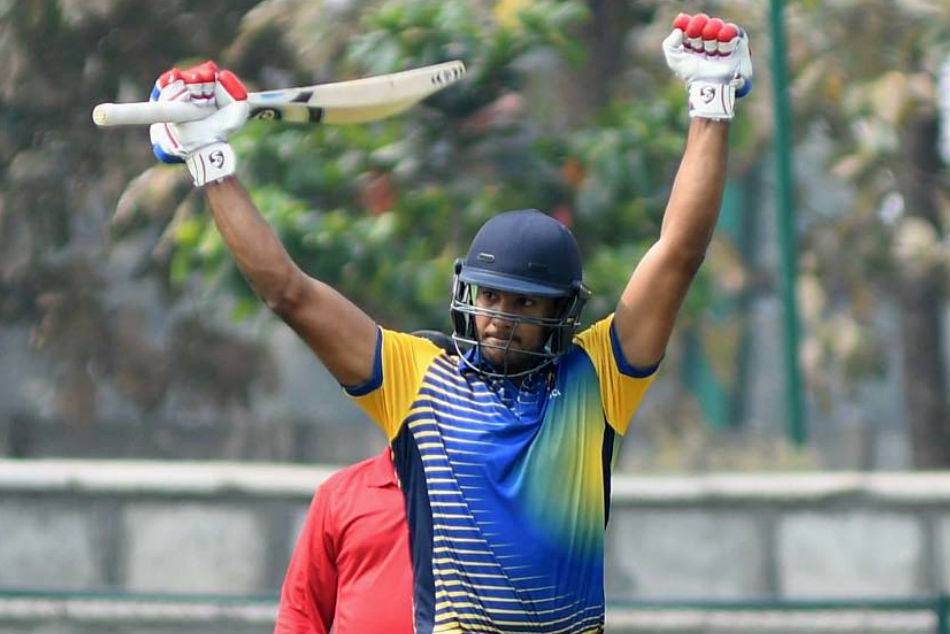 Karnataka scores massive score against Odisha in Vijay Hazare tournament
