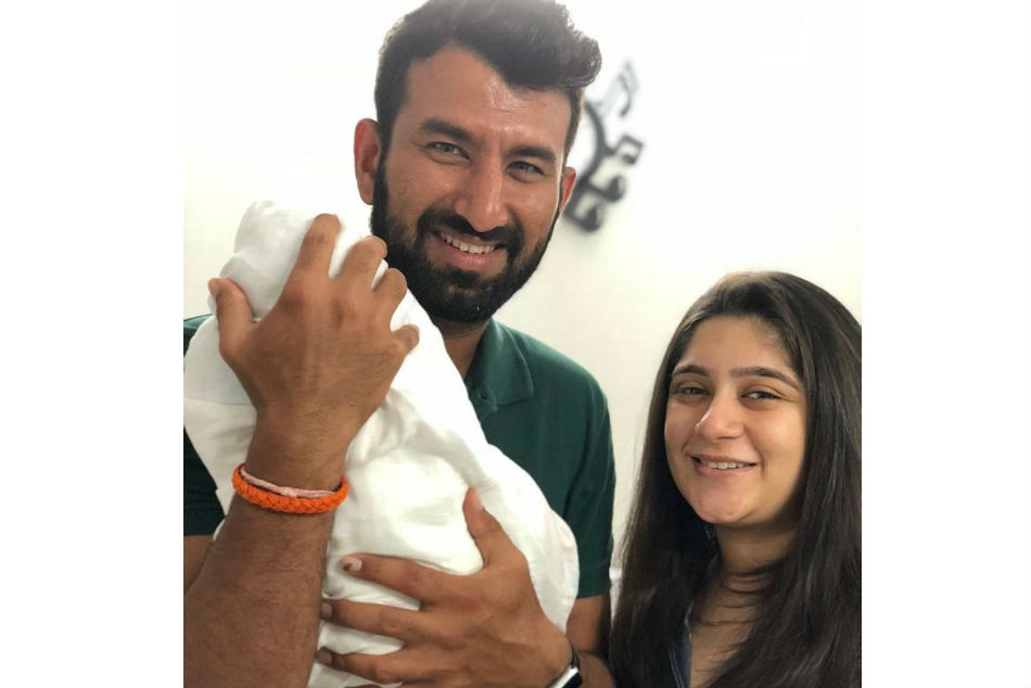Cricketer Cheteshwar Pujara become father today