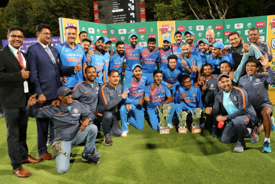 rd T20i Clinical India Edge South Africa A Nail Biter Clinch Series 2