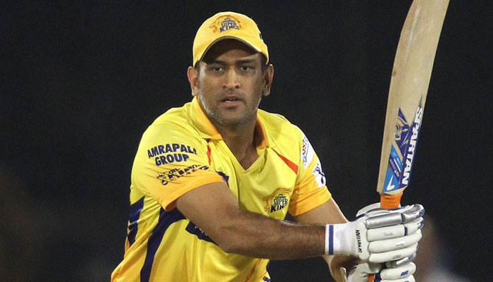Dhoni gets emotional while talking about CSK