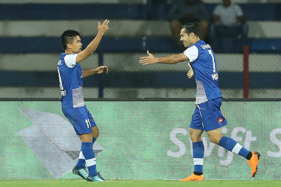 ISL 2018, Bengaluru FC vs FC Pune City: Sunil Chhetri books final with hat-trick involving a panenka