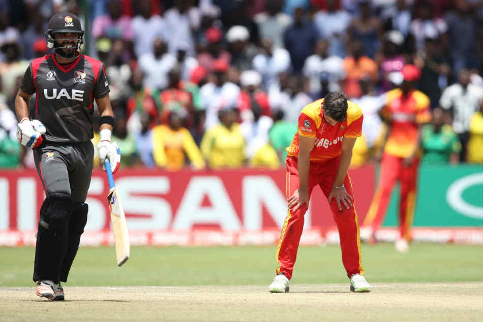 UAE defeated Zimbabwe in world cup qualifier match