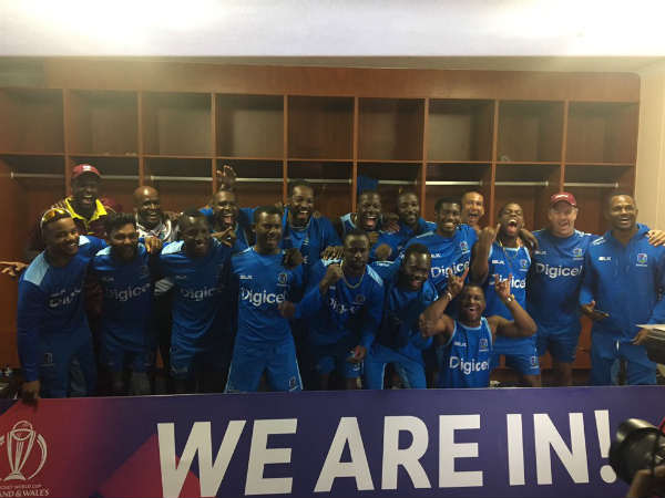 West Indies enters world cup by defeating Scotland
