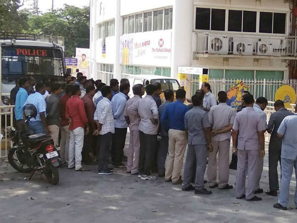 IPL 2018: Pro Tamil activists protest outside stadium against CSK home matches