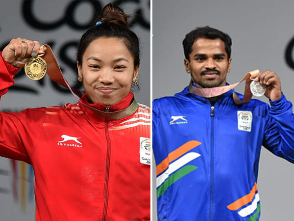 Indias Performance In Commonwealth Games 2018 On First Day