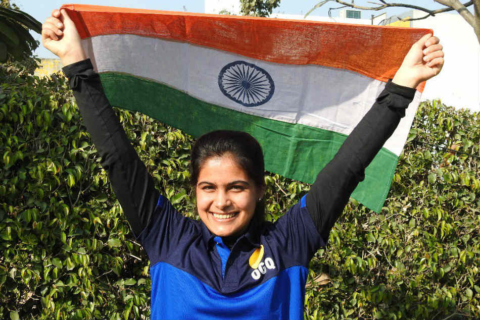 Manu Bhaker, all of 16, runs away with 10m pistol gold