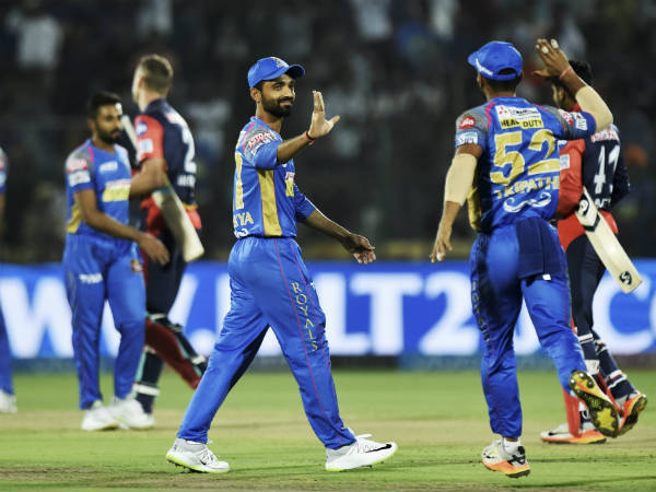 IPL 2018: Rajasthan Royals beat Delhi Daredevils by 10 runs via DLS Method