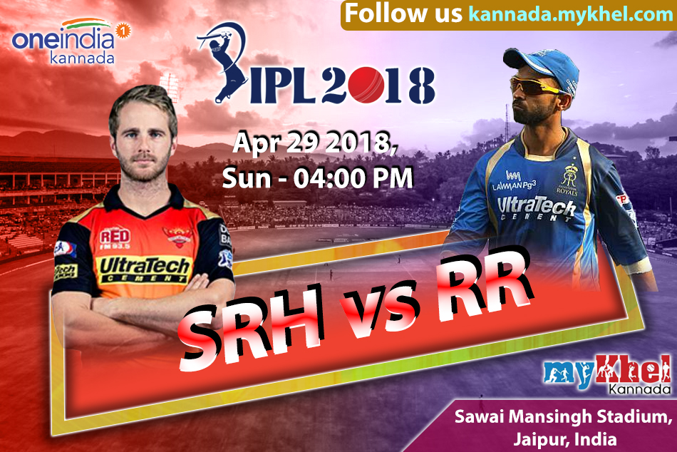 Ipl 2018 Rajasthan Vs Hyderabad 2018 Match 28 Report