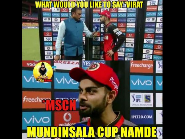 Ipl 2018 Mscn Or Nscn Next Time Cup Is Ours Says Rcb Backed Troll Pages