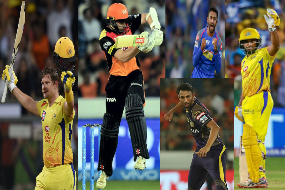 Ipl 2018 From Shane Watson Prasidh Krishna The Players Who Excelled Unexpectedly
