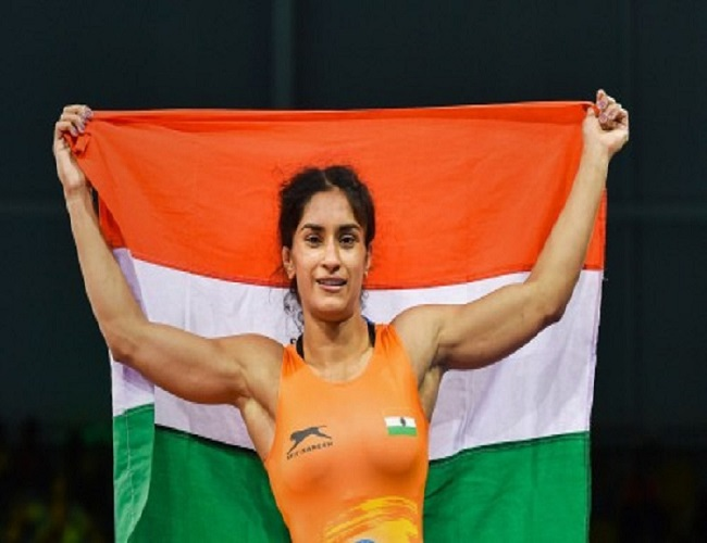 Cwg Champion Vinesh Phogat Wants Medal History 2020 Olympics
