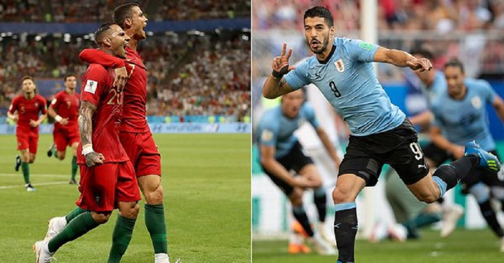 Uruguay vs Portugal Live Score, FIFA World Cup 2018