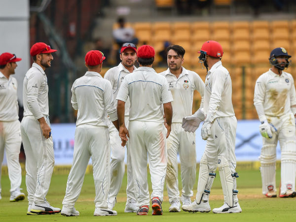 india afghanistan test match 2nd day report