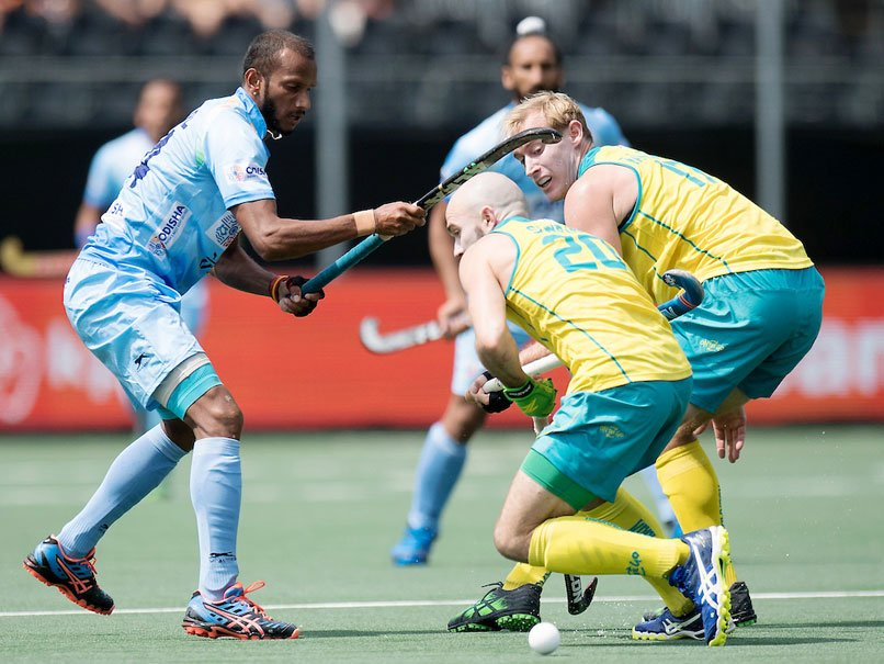 India Go Down Fighting 2 3 Australia Champions Trophy Hockey