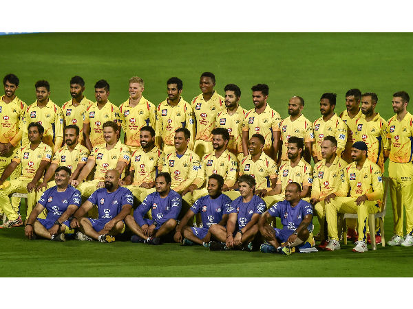 csk team meeting was over just in five seconds before final