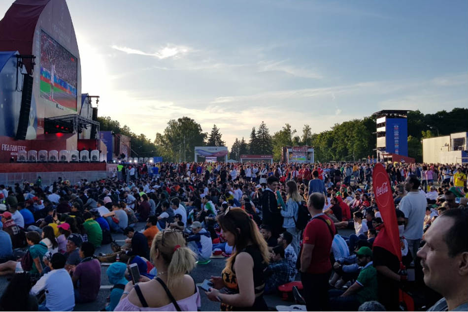 Russia Tour Diary: FIFA Fan Fest - Long queues for food, beverages and toilets irk visitors